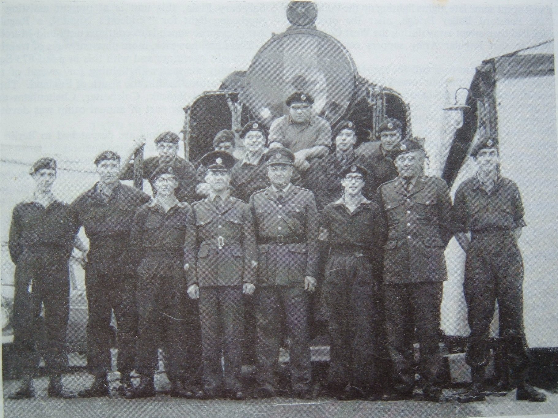 873's team at the Ulster Tattoo, 1968